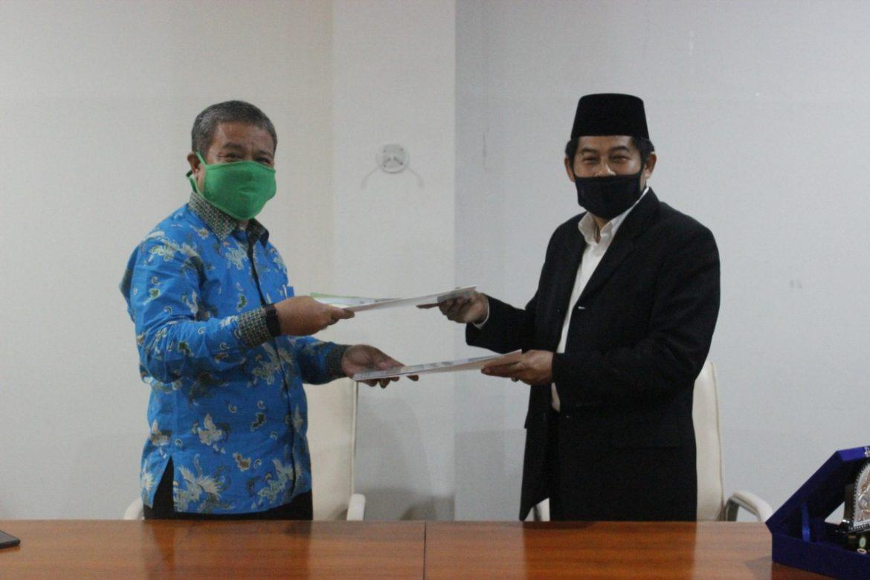 Penandatanganan MoU UNW Mataram dengan Universitas Al Azhar